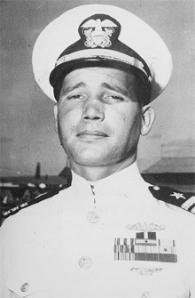 Cdr. Robert Ward, WWII (US Navy photo)