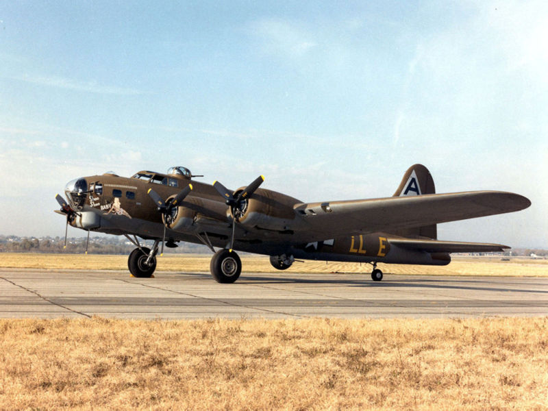 B-17G Flying Fortress Shoo Shoo Baby of the 91st Bomb Group (USAF Museum)