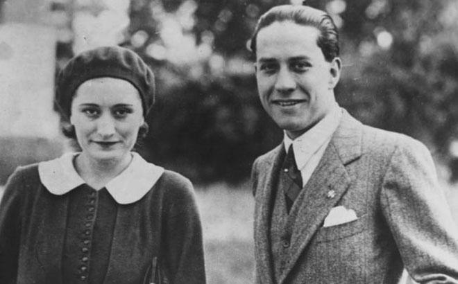 Count Galeazzo Ciano and his wife Edda Mussolini (public domain via WW2 Database)