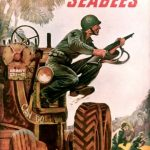 US recruiting poster for the Navy Seabees, WWII