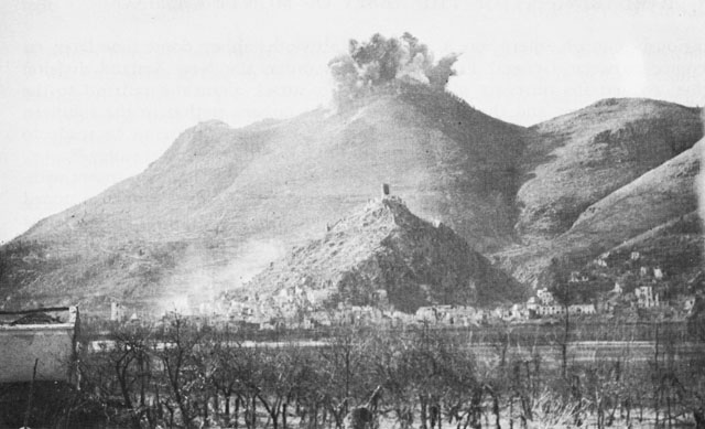 Bombing of the Abbey of Monte Cassino, 15 Feb 1944 (US Army Center of Military History)
