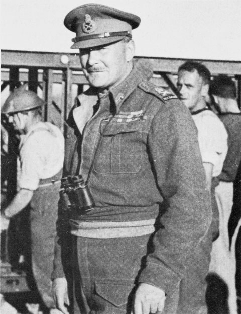 Lt. Gen. Sir Bernard Freyberg, WWII (US Army Center of Military History)