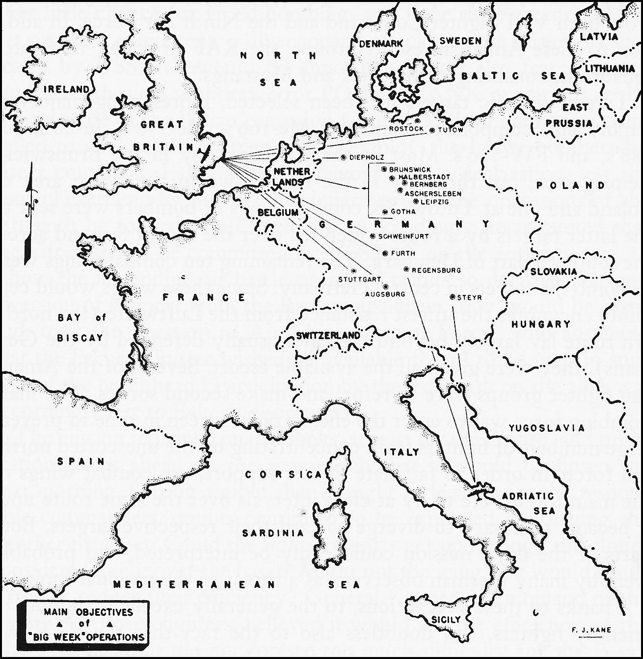 Today in World War II History—Feb. 20, 1944