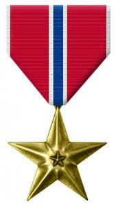 Bronze star (US Army Institute of Heraldry)
