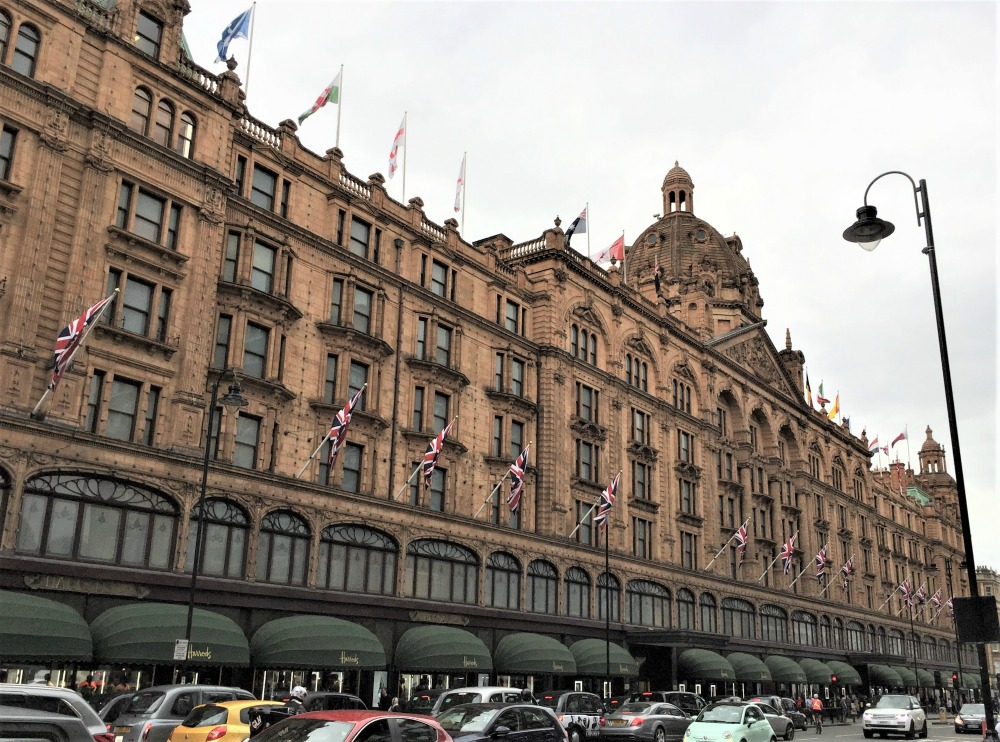 Harrod's, London, September 2017 (Photo: Sarah Sundin)