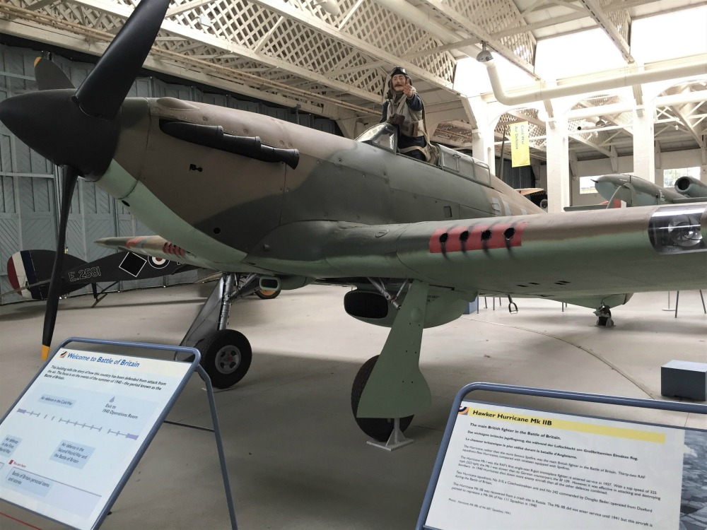 Hurricane fighter, Imperial War Museum, Duxford, England, September 2017 (Photo: Sarah Sundin)