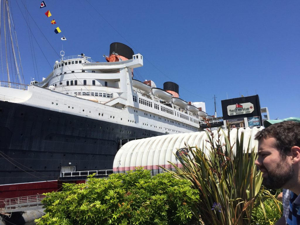 Queen Mary, Long Beach, CA, June 2017 (Photo: Sarah Sundin)