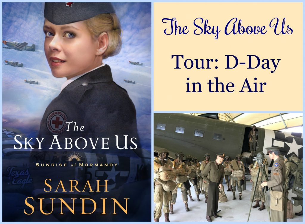 Celebrating the release of The Sky Above Us! Today I'm featuring historical photos plus photos from my research trip to England and Normandy that relate to the aerial aspect of D-day.