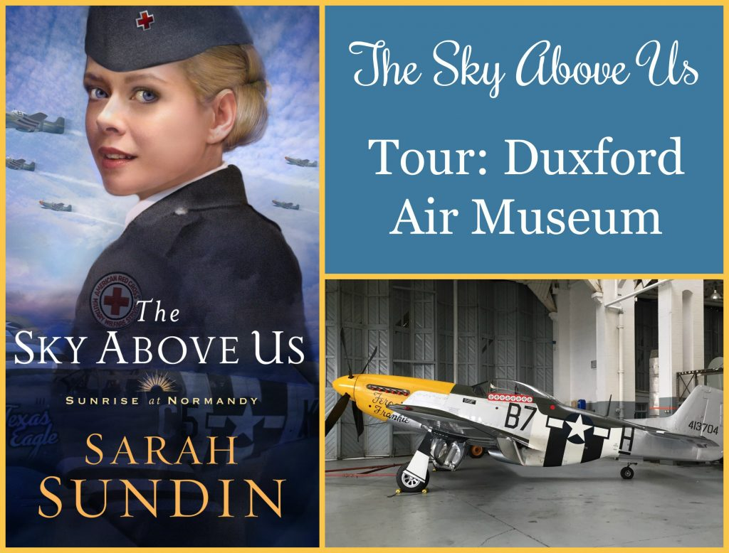 To celebrate the release of The Sky Above Us, author Sarah Sundin is showing photos from her research trip to England and Normandy. Today - Imperial War Museum, Duxford