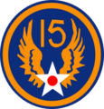 Patch of the US Fifteenth Air Force, WWII