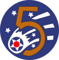 Patch of the US Fifth Air Force