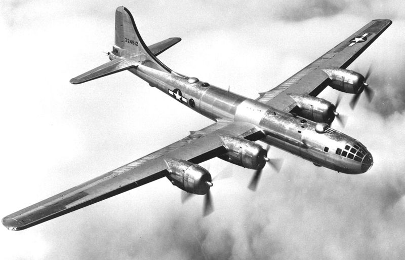 B-29 Superfortress (USAF photo)