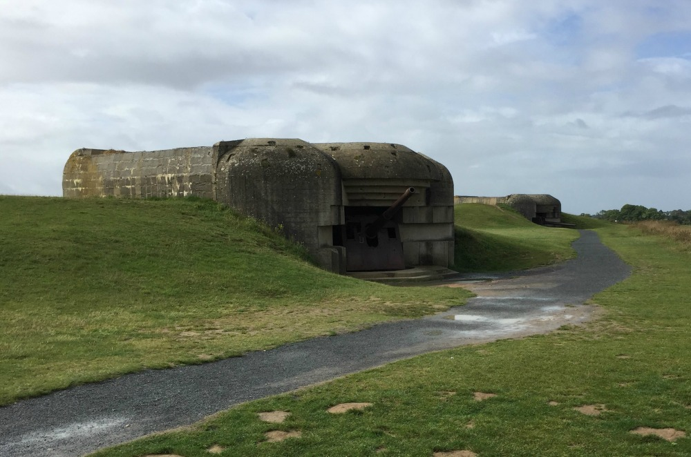 Longues-sur-Mer gun battery, Longues-sur-Mer, France, September 2017 (Photo: Sarah Sundin)