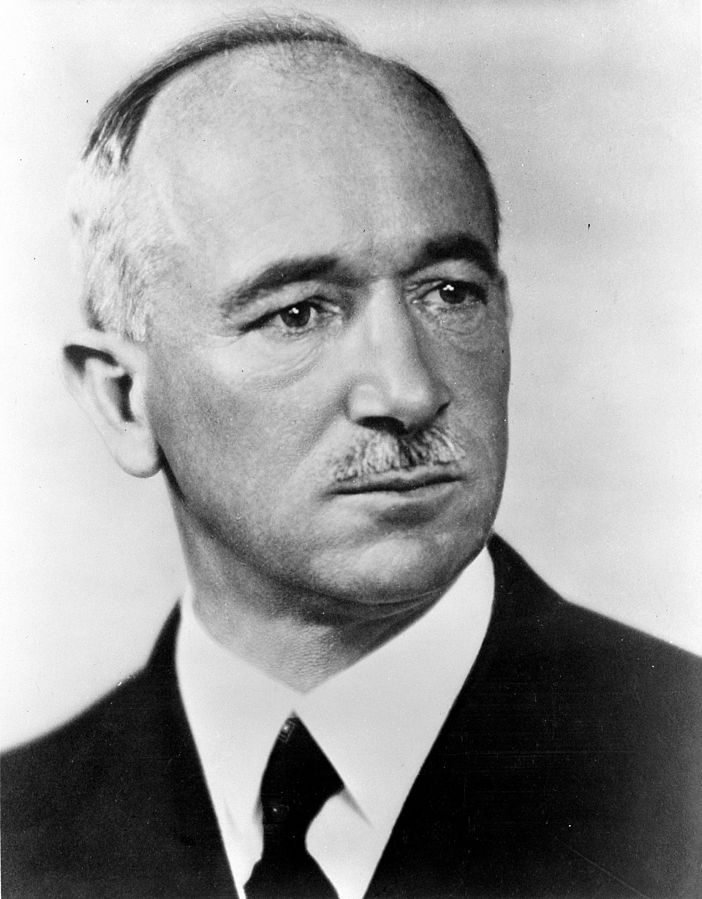 Edvard Beneš, president of Czechoslovakian government-in-exile, 1942 (US Library of Congress)