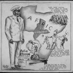 """""""Félix Éboué—Governor-General Fighting French Africa—Scholar, Statesman, Soldier"""" by Charles Alston for US Office of War Information, 1943 (US National Archives)"""