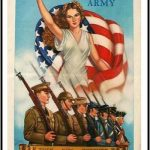 US Army recruiting poster, WWII