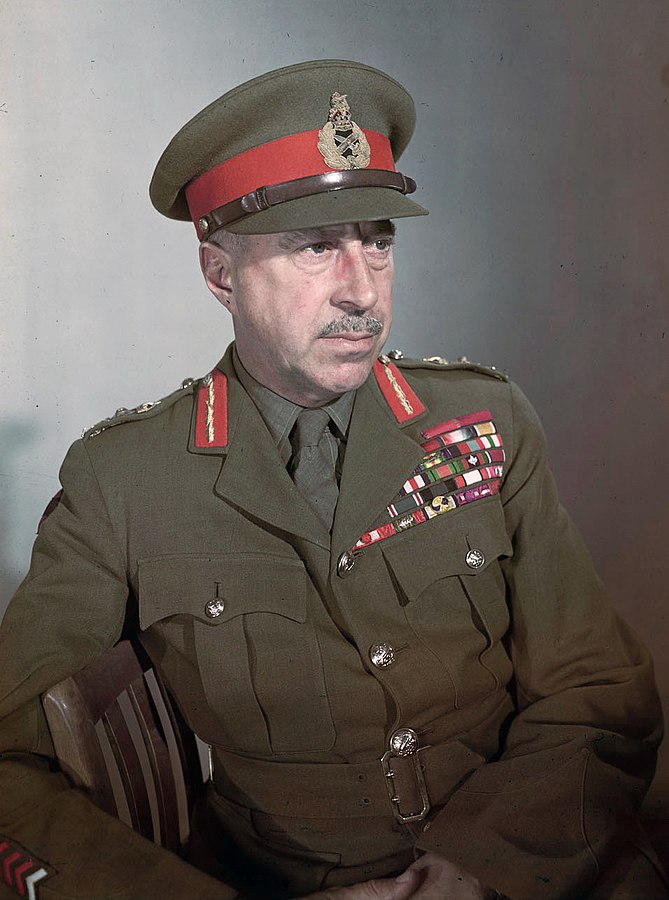 Canadian Gen. Harry Crerar, 1943-45 (Library and Archives Canada)