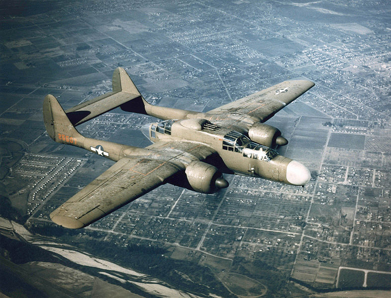 Northrop P-61 Black Widow night fighter (US Air Force photo)