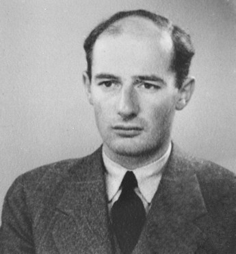 Raoul Wallenberg, June 1944 (public domain via Wikipedia)