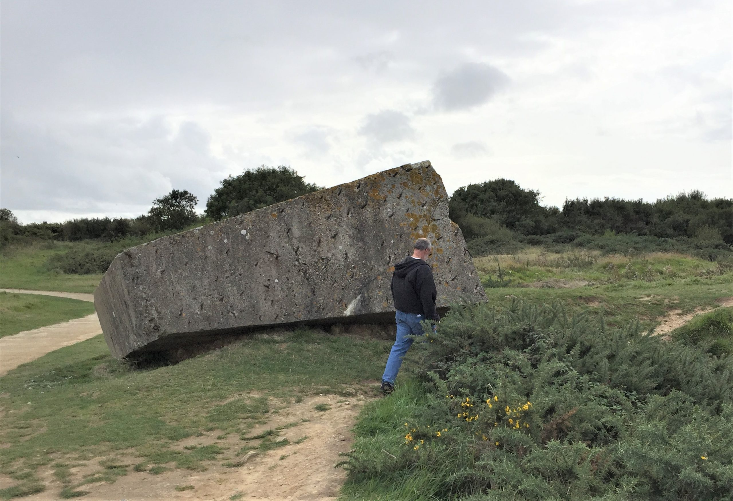 Ruins at Pointe du Hoc (Photo: Sarah Sundin, September 2017)