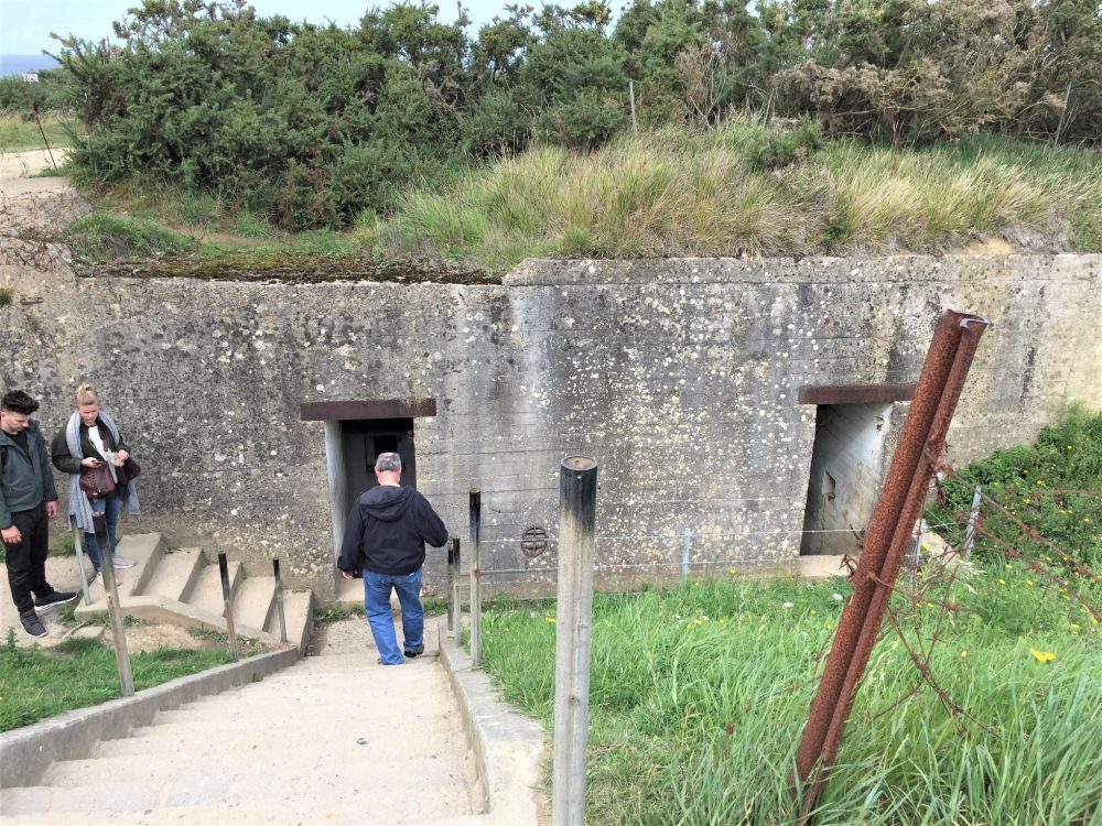 Bunker at Pointe du Hoc (Photo: Sarah Sundin, September 2017)