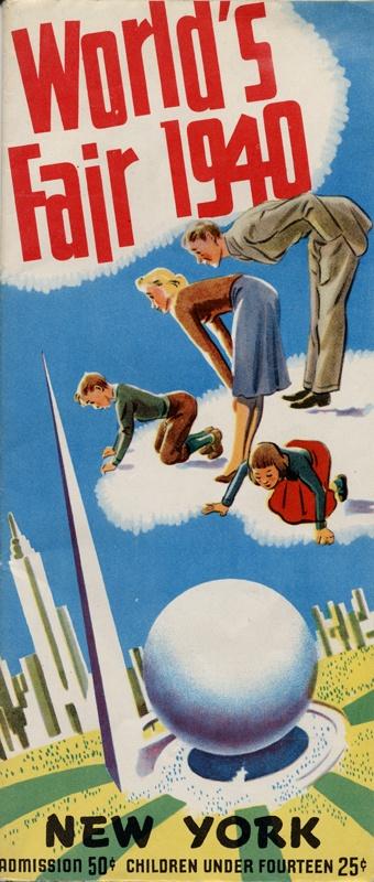 Poster for 1940 World's Fair, New York City
