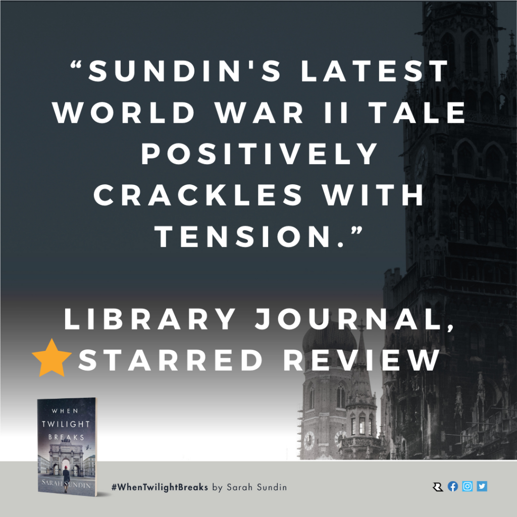 Starred review for When Twilight Breaks from Library Journal
