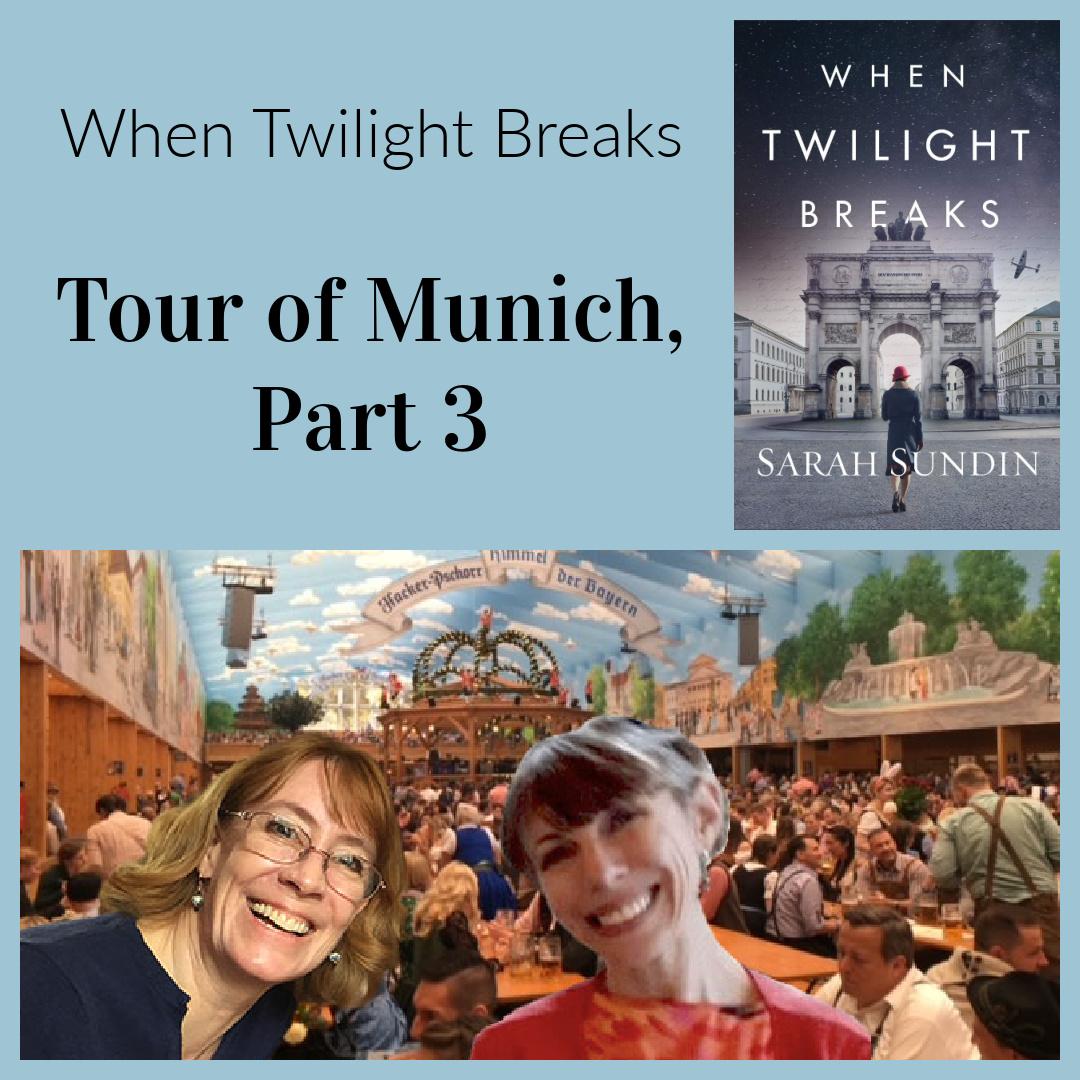 When Twilight Breaks Photo Tour of Munich, Part 3