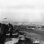 US troops and equipment being landed near Colleville-sur-Mer, France, 9 Jun 1944 (US National Archives)