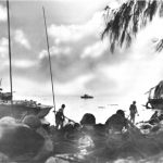 US troops landing on Saipan, 15 June 1944 (US Army Center of Military History)